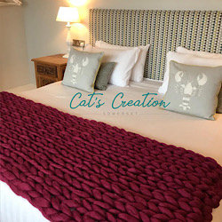 Arm Knitted Bed Runner