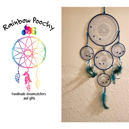 Dreamcatcher and logo from Rainbow Poochy